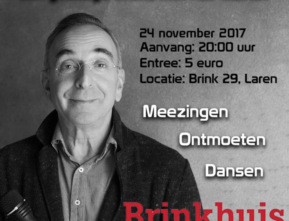 Mensen koop een kaartje voor:  24 november: Een gezellige avond met Rolf Menist!!
